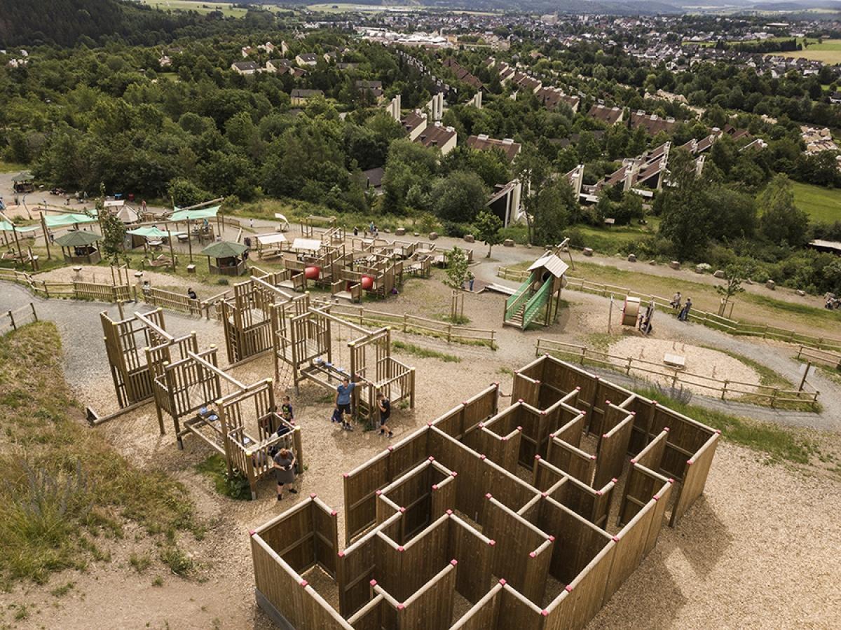 AVENTURA - Der SpielBerg in Medebach / Erweiterung 2019 / Fotomontage