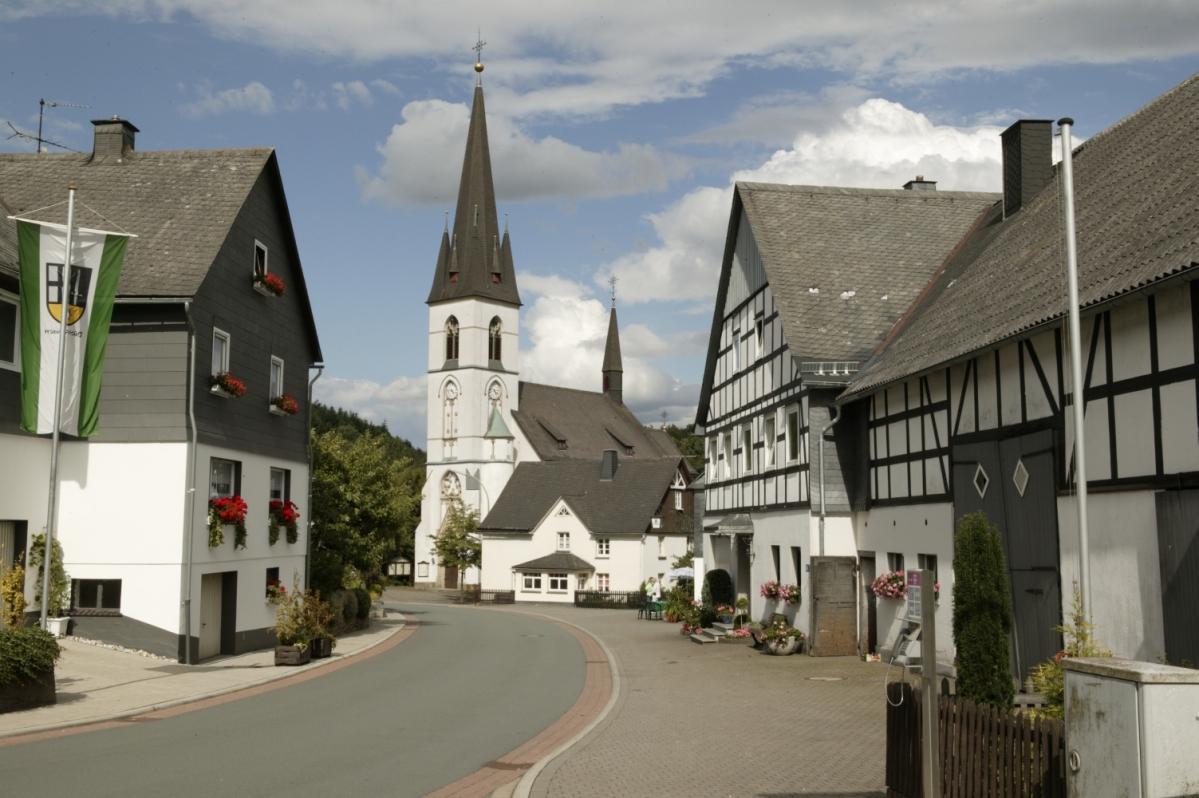 Dorfmitte Medebach-Düdinghausen