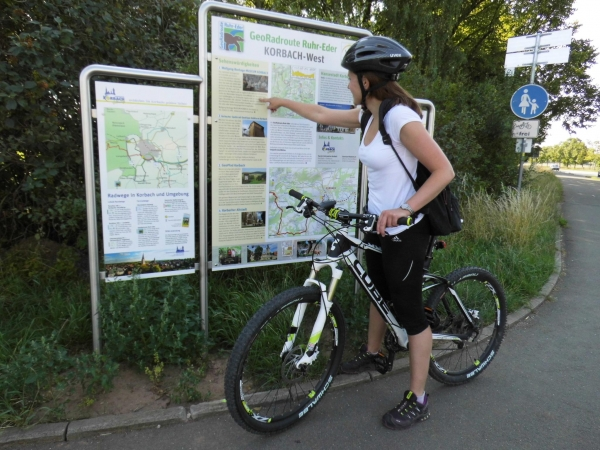 Geofietsroute Ruhr-Eder