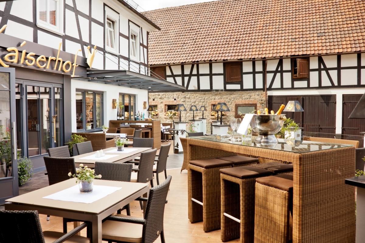 Komfortterrasse Hotel Kaiserhof Medebach-Medelon