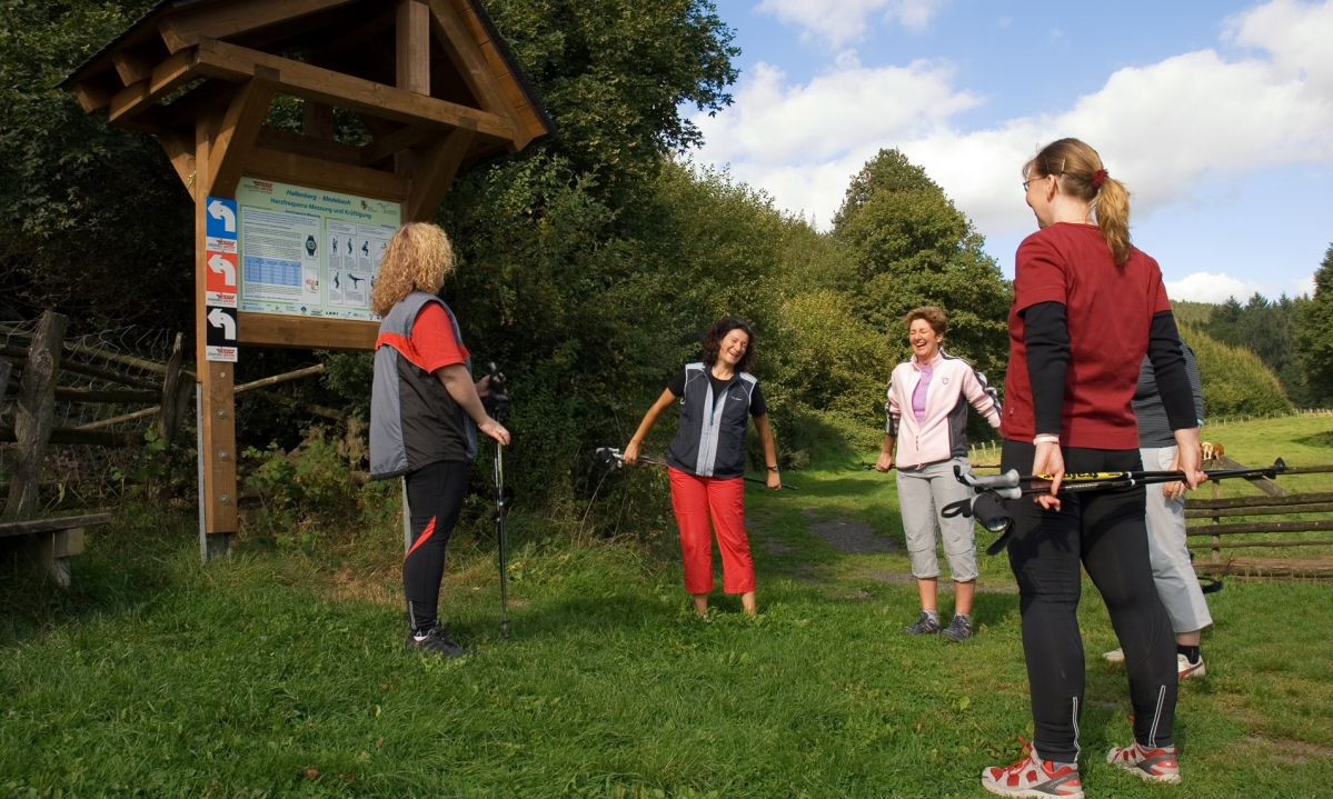 Aktiv in Medebach: Nordic Walking
