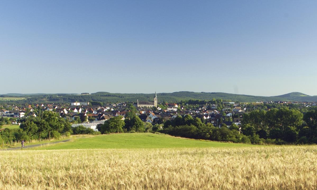 Panorama: Hansestadt Medebach