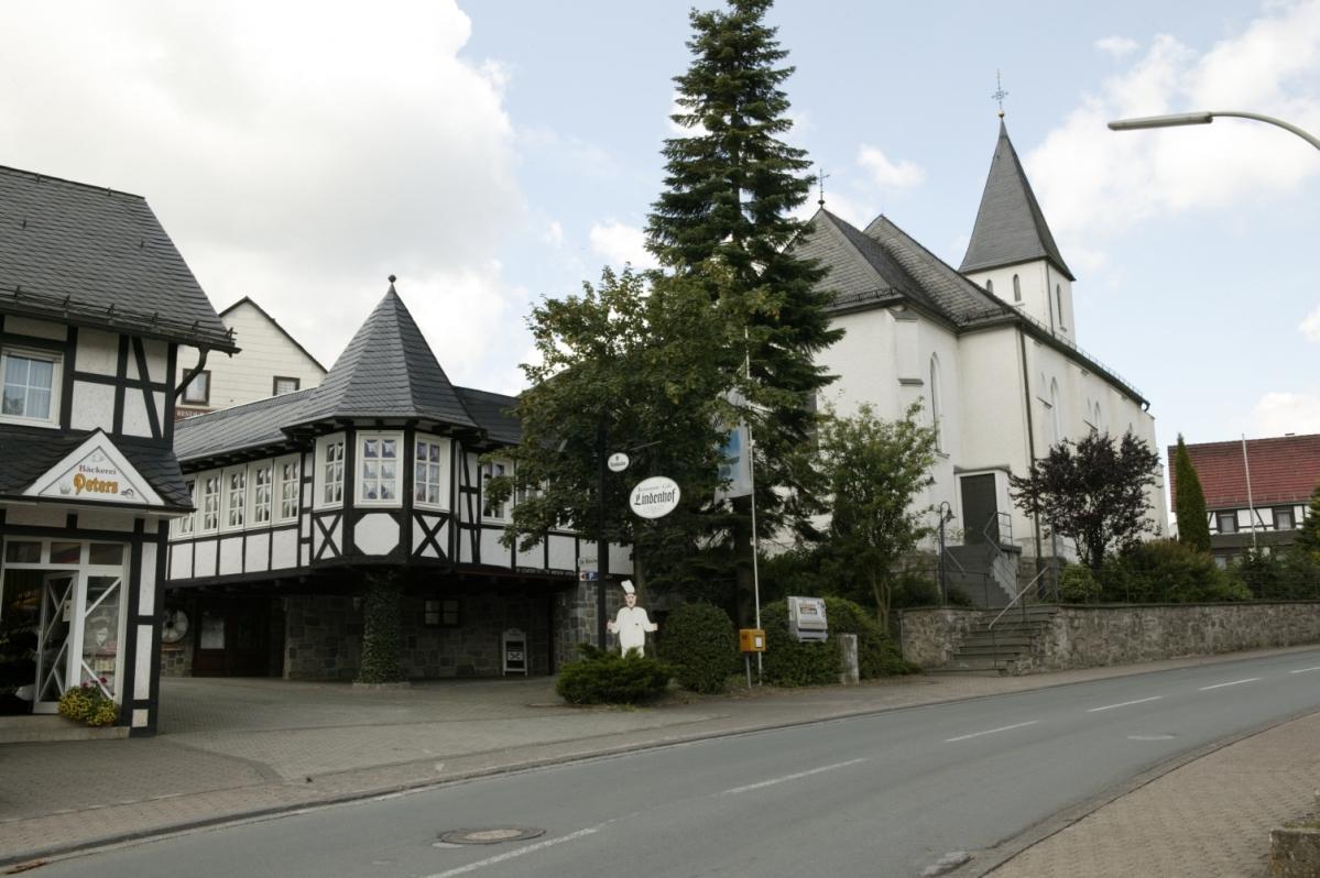 Ortsmitte Medebach-Oberschledorn