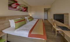 Hotelzimmer nach Renovierung