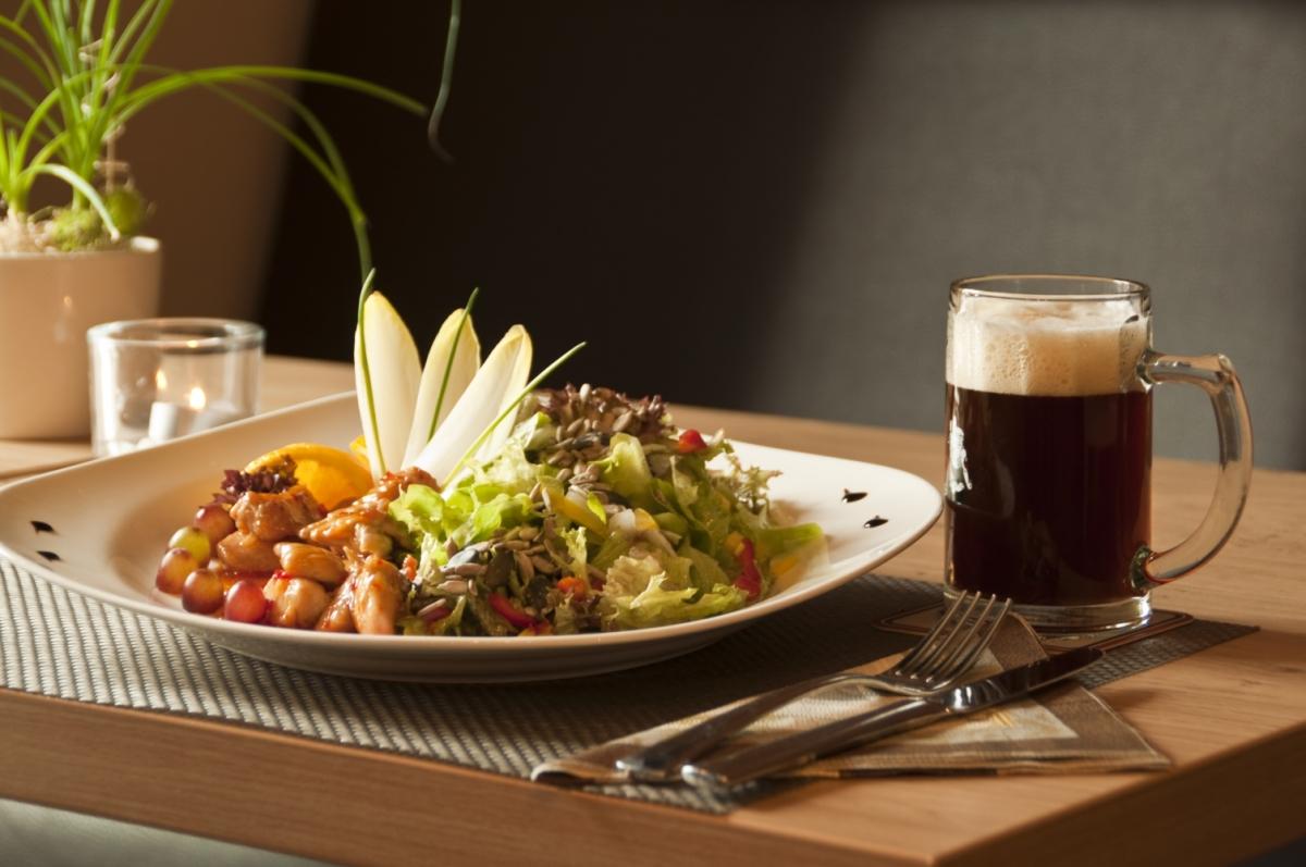 Leckeres Essen und Bier Trolls Brauhaus Medebach